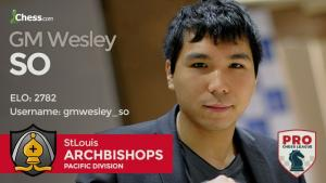 Playing In The Pro League With Wesley So