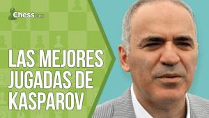 Las mejores jugadas de Garry Kasparov