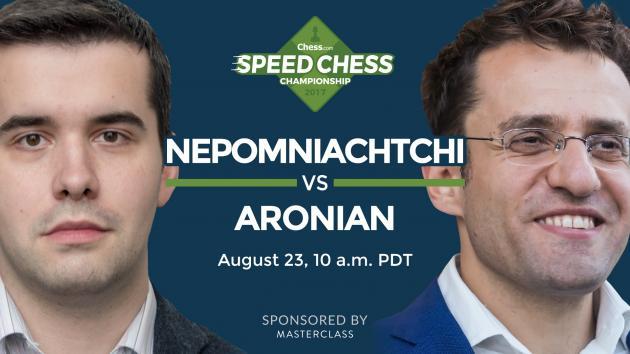 Tactics Champ: Nepo vs. Aronian