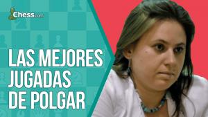 Las mejores jugadas de Judit Polgar