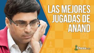 Las mejores jugadas de Vishy Anand