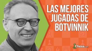 Las mejores jugadas de Botvinnik