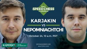 2017 Speed Chess Championship: Nepomniachtchi vs Karjakin