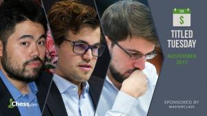 Titled Tuesday! Featuring Magnus Carlsen