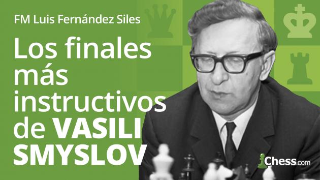 Los finales más instructivos de Vasili Smyslov