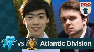 2018 PRO Chess League: Round 1 | Atlantic Division