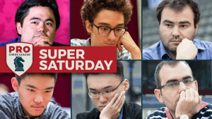2018 PRO Chess League: Super Saturday with Fabiano Caruana and Hikaru Nakamura