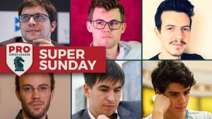 2018 PRO Chess League: Super Sunday With Magnus Carlsen and Maxime Vachier-Lagrave