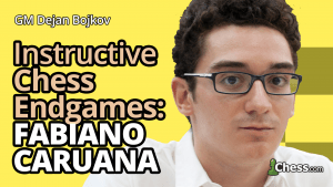Fabiano Caruana's 3 Most Interesting Endgames