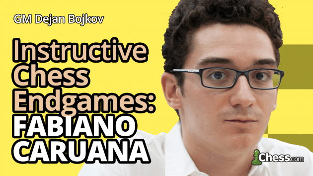 Fabiano Caruana's 3 Most Instructive Endgames