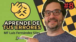 Aprende de tus errores en ajedrez #8