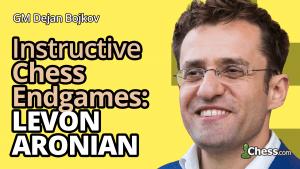 Levon Aronian's 3 Best Endgames