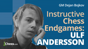 Ulf Andersson's 3 Most Instructive Chess Endgames