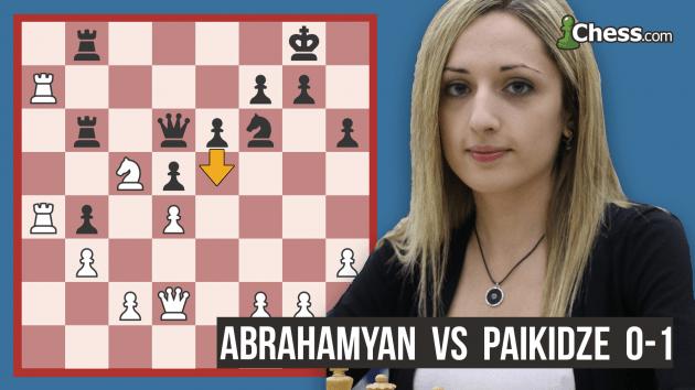 How Paikidze Won The U.S. Women's Championship: Punishing A Blunder
