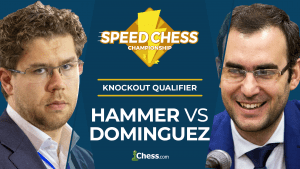 Speed Chess KO Qualifier Final: Hammer vs Dominguez