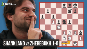 How Shankland Won The US Champs: Piece vs Pawns