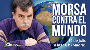 El gran debut de Morsa contra el Mundo