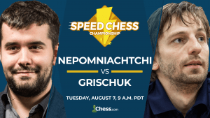 2018 Speed Chess Championship: Nepomniachtchi vs Grischuk