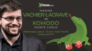 Man Vs Machine: Maxime Vachier-Lagrave Plays Komodo