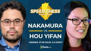Nakamura vs Hou Yifan | Torneo de Ajedrez Speed Chess 2018
