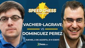 Vachier-Lagrave vs. Domínguez Pérez | Torneo de Ajedrez Speed Chess 2018