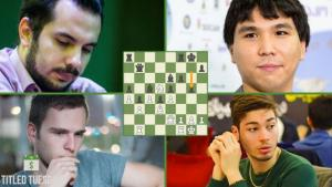 September Titled Tuesday: Wesley So Shows Down