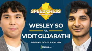 2018 Speed Chess Championship: So vs Vidit