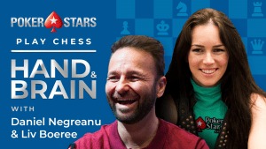 PokerStars Daniel Negreanu, Liv Boeree Play Hand And Brain Chess