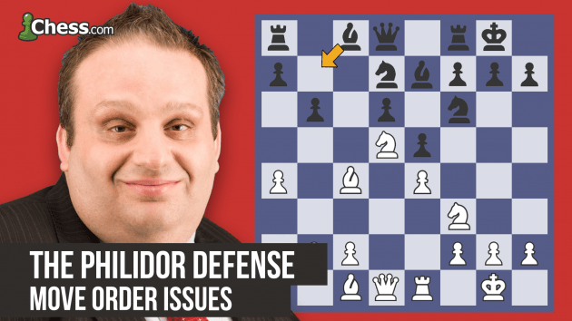 The Philidor Defense: Move Order Issues