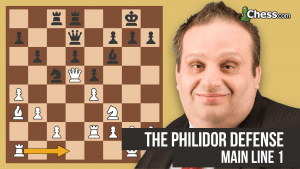 The Philidor Defense: The Main Line