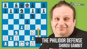The Philidor Defense: Shirov Gambit