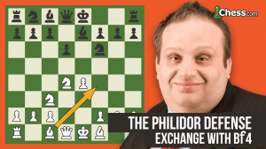 The Philidor Defense: Exchange With Bf4