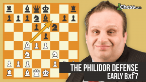 The Philidor Defense: Early Bxf7