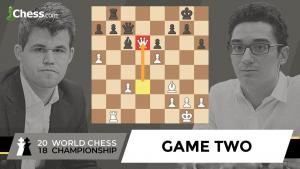 Carlsen vs Caruana (Game 2 Analysis) | World Chess Championship 2018
