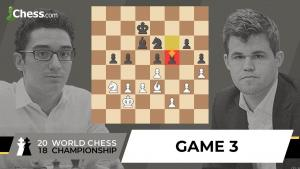 Carlsen vs Caruana (Game 3 Analysis) | World Chess Championship 2018