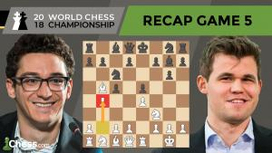 Carlsen vs Caruana (Game 5 Analysis) | World Chess Championship 2018
