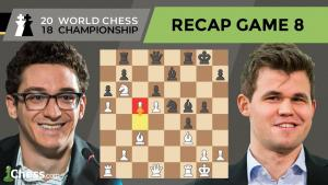 Carlsen vs Caruana (Game 8 Analysis) | World Chess Championship 2018