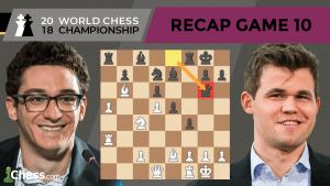 Carlsen vs Caruana (Game 10 Analysis) | World Chess Championship 2018