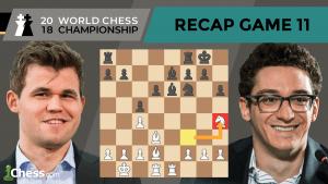 Carlsen vs Caruana (Game 11 Analysis) | World Chess Championship 2018