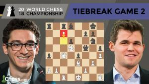 Carlsen vs Caruana (Tiebreak Game 2 Analysis) | World Chess Championship 2018