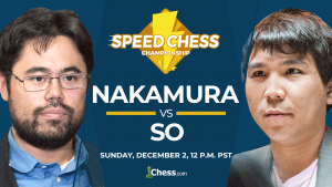 2018 Speed Chess Championship Finals: Nakamura vs So