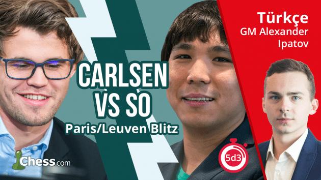 Magnus Carlsen - Wesley So | 2017 Grand Chess Tour
