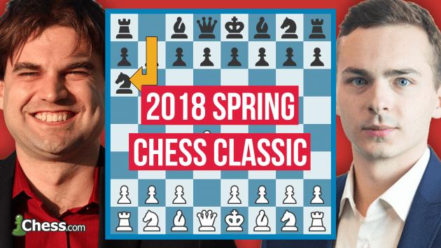Türkiye Satranç Şampiyonu Ipatov ABD Satranç Şampiyonu Shankland'a Karşı | 2018 Spring Chess
