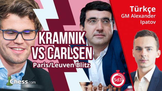 Vladimir Kramnik - Magnus Carlsen | 2017 Grand Chess Tour