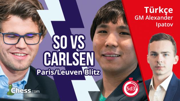Wesley So - Magnus Carlsen | 2017 Grand Chess Tour