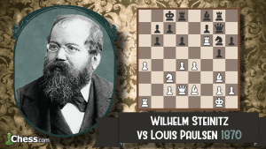 Old School Cool: Steinitz vs Paulsen