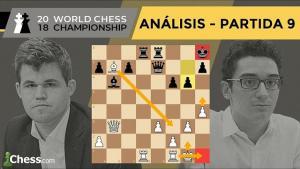 Caruana vs Carlsen | Mundial de ajedrez 2018 | Resumen 9ª partida