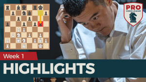 PRO Chess League Week 1 Highlights: Ding Liren Dominant, Upsets Galore