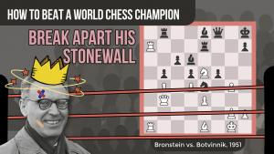 How To Beat A World Chess Champion: Bronstein vs Botvinnik