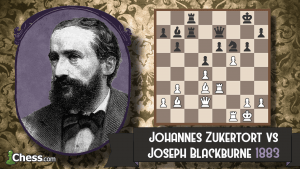 Old School Cool: Zukertort vs Blackburne